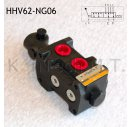 Hydraulik Handhebelventil Wegeventil 6/2 NG06 50l/min